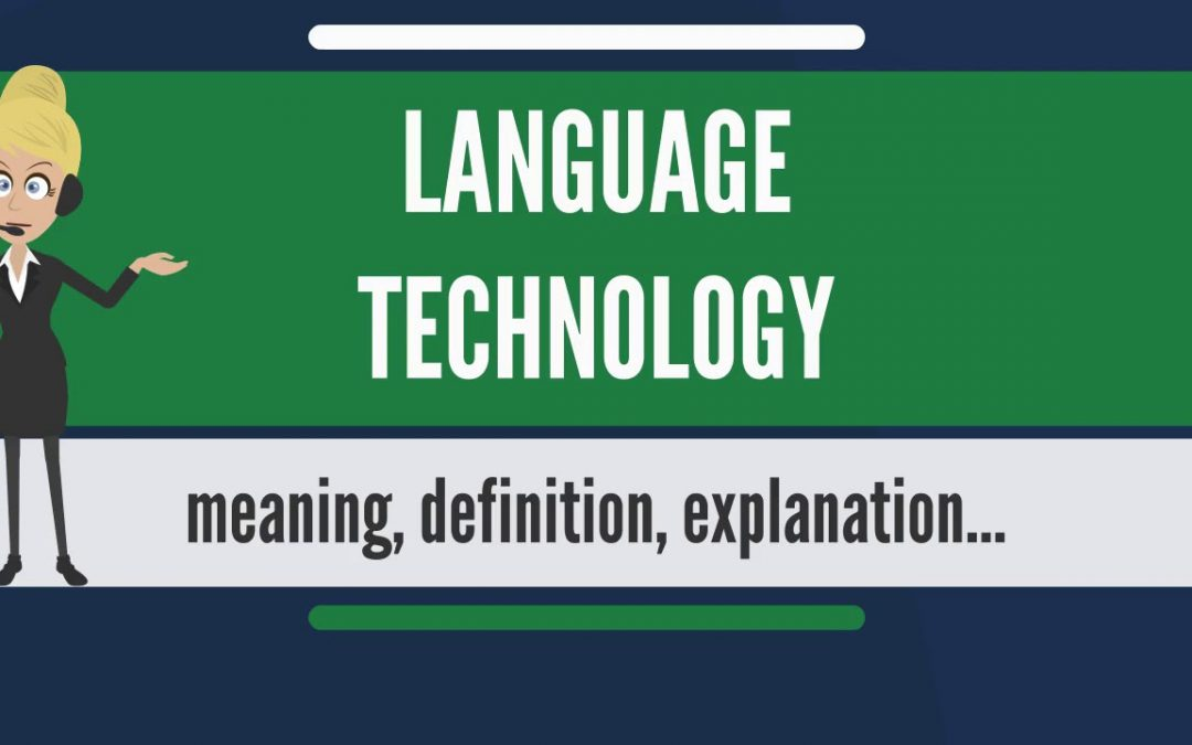 Language technology and how it helps with development
